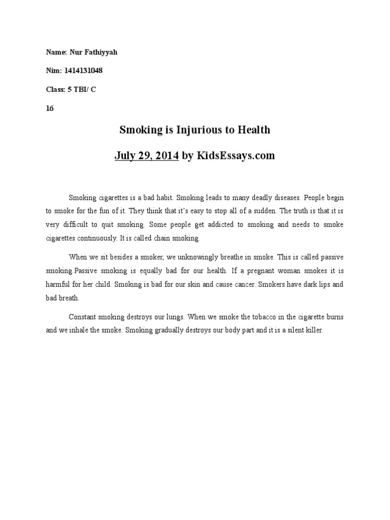 Analysis Mood Residue | Smoking | Cigarette
