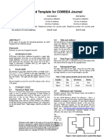 ACM - Paper Template