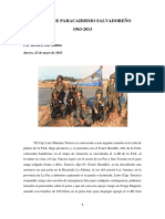 50 Años de Paracaidismo Salvadoreño
