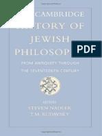 242670540 the Cambridge History of Jewish Philosophy Vol 1 PDF