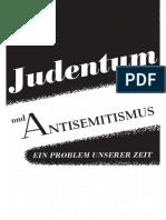 260622369 Prothmann RA Wilhelm Judentum Und Antisemitismus Ein Problem Unserer Zeit Mit Gutachten VonHermann Wirth 1958 PDF