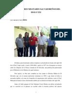 Historiadores Militares Salvadoreños del Siglo XXI