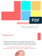 Hemodinamia Doppler
