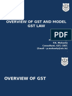 1.Overview of GST & Model GST Law