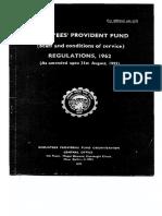 EPF StaffServiceRegulations1962 AmdUptoAugust1992 Part 2