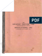 EPF StaffServiceRegulations1962 AmdUptoApril1972 Part 1