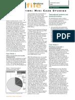 Globalistation Mini Case Studies