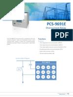 Flyer - PCS-9691E Overcurrent Relay.pdf