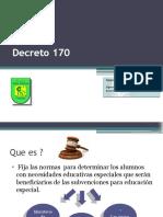 Decreto 170 revisado