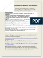 Pregnancy, Foetal Development, Transition Pre Lecture Material