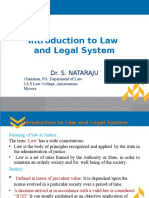 Introduction to Law & Legal Syatem
