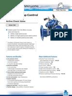 Bermad Booster Pump Control Valve 700 Series