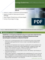 Guidelines 2015 Midyear Review Obgyn ACOG