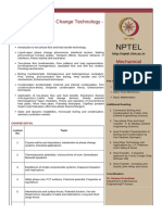 Liquid Vapor Phase Change Technology -Course Work Syllabus