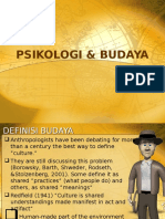2. Psikologi & Budaya