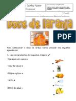 Ficha de Port - Doce de Laranja