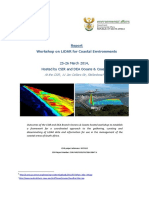 Report Coastal LiDAR WS 25 26March Stellenbosch Final Draft 29Aug2014