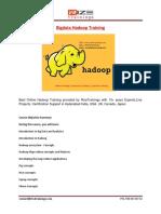 Bigdata Hadoop Training in Hyderabad - Rizetrainings.com