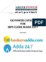 Gk Power Capsule for Ibps Clerk Mains Edited Finally by Gopal Sir1