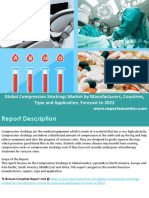 Compression Stockings market forecast, By Regions