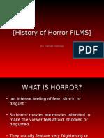 History of Horror FILMS
