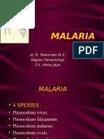 Malaria 1-2 Blok Infeksi