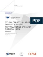 Study on Actual GHG Data Oil Gas (Project Interim Report)