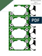 Círculos Comunión Marco Fútbol