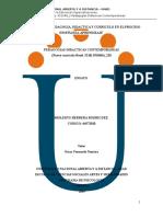 Relacion de La Pedagogia, Didactica y Curriculo en El Proceso Enseñanza-Aprendizaje