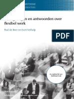 Dertig Vragen en Antwoorden Over Flexibel Werk