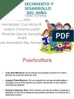 Crecimiento y Desarrollo Del Niño.