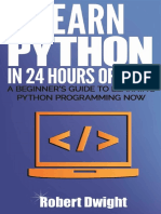 Python Learn Python in 24 Hours Robert Dwigh