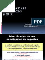 NIIF 3 Combinaciones de Negocios Master (1)