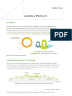 Qlik Visual Analytics Platform