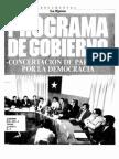 Programa de Gobierno Patricio Aylwin