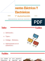 Exposición componentes eléctricos