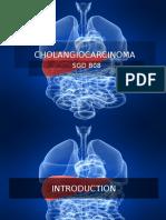 CHOLANGIOCARCINOMA PPT