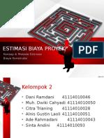 Metode Estimasi Biaya Proyek
