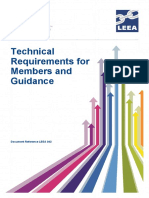 Technical Requirements & Guidance
