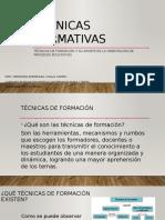 Evidencia - Implementacion de Tecnicas Formativas