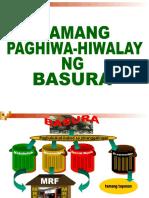 Tamang Paghihiwalay Ng Basura