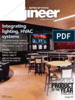 2013-04 CSE Magazine, Integrating Lighting, HVAC Systems