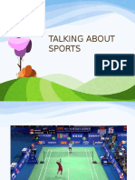 week 2 - talking about sports