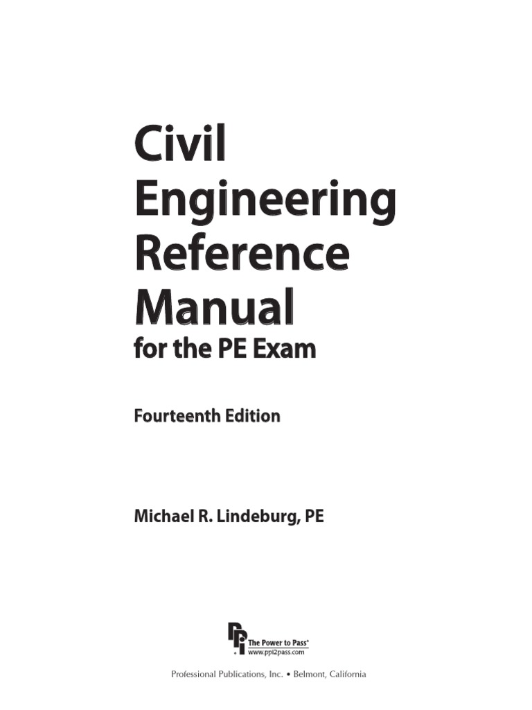 civil engineering reference manual pdf reinforced concrete