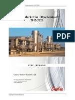 Global Market for Oleochemicals