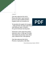 Que Duas Naturezas (21/01/2017), soneto.