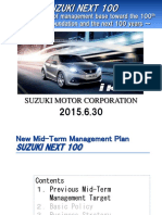 Suzuki Next Plan