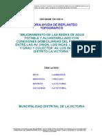 Nuevo Replanteo Topografico - La Victoria