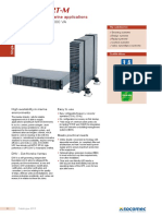 Socomec En Netys RT M Catalogue 2015