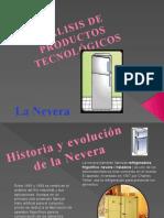 Analisis de Producitos Tecnologicos